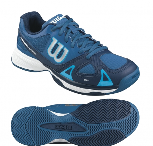 Dětská tenisová obuv Wilson Rush Pro Junior WRS320730 modrá