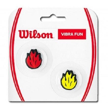 Tenisové tlumítko Wilson Vibra Fun - plamínky
