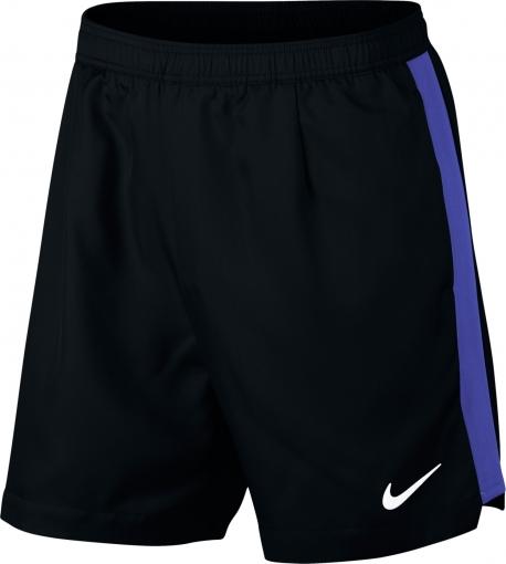 Tenisové kraťasy Nike Court Dry Short Rib 7´´ 830823-010 černé