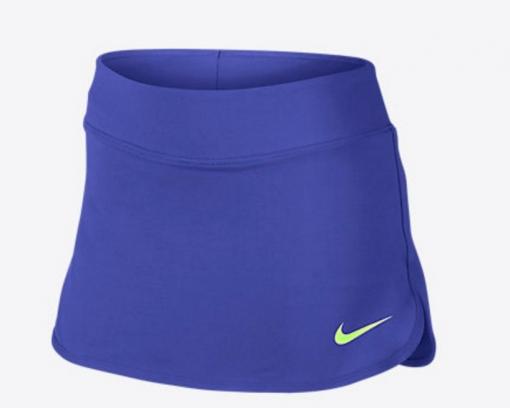 Dívčí tenisová sukně Nike Tennis Skirt 832333-452 modrá