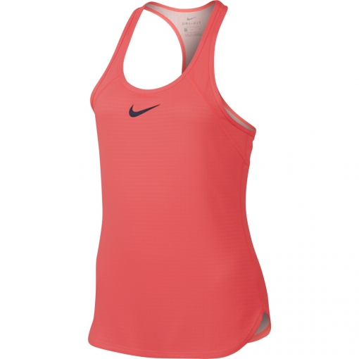 Dívčí tričko / top Nike Dry Slam 859935-667 neonově růžové