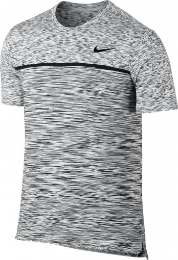 Chlapecké tričko Nike Dry Top SS Challenger 856116-100 šedé