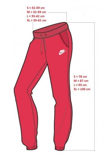 Dívčí tepláky Nike Sportswear Pant 806326-645 růžové