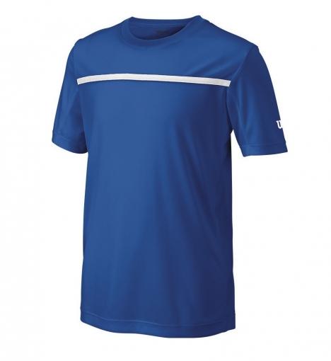 Dětské tričko Wilson Boys Team Crew WRA725704 modré