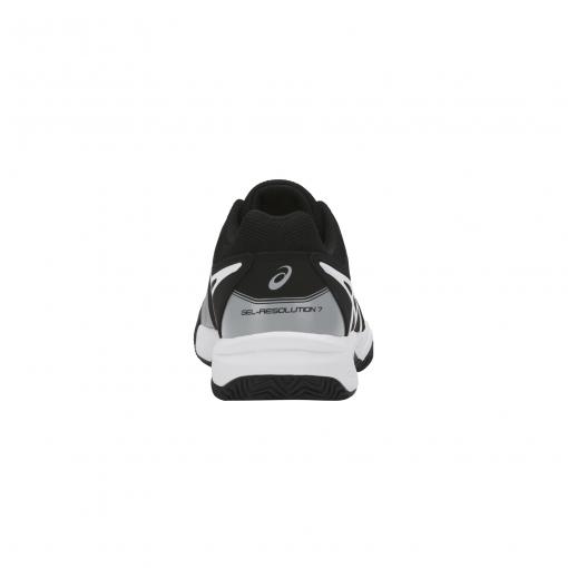 Dětská tenisová obuv Asics Gel Resolution 7 Clay GS C800Y-9690 šedá 21ac7af6fe6b7