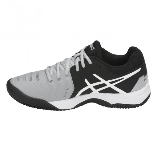 ... Dětská tenisová obuv Asics Gel Resolution 7 Clay GS C800Y-9690 šedá 019dc54fac