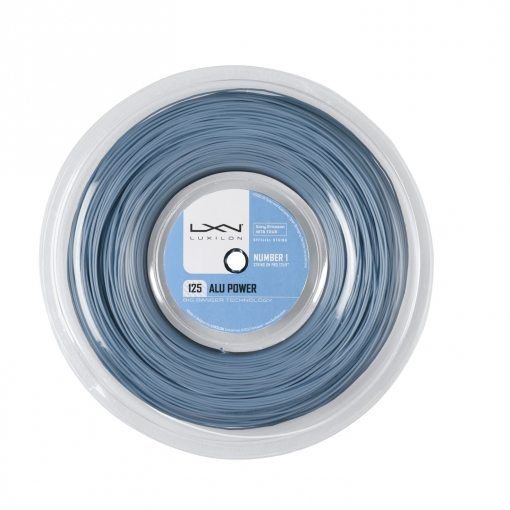 Tennissaite LUXILON ALU POWER 125 220m ICE BLUE - Saitenrolle