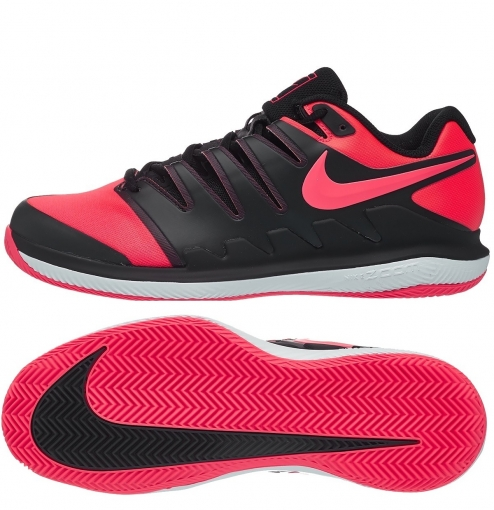 Tenisová obuv Nike Air Zoom Vapor X Clay AA8021-006 black / polar red
