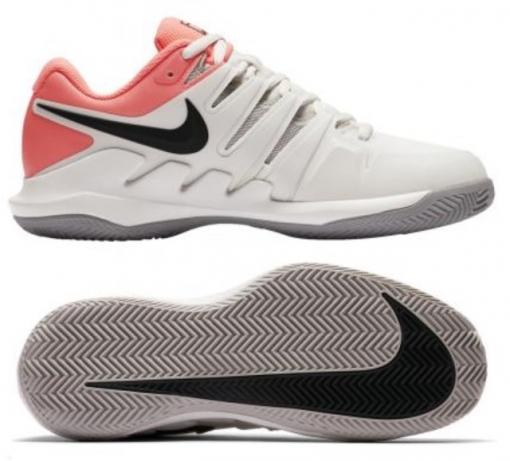 Dámská tenisová obuv Nike Air Zoom Vapor X Clay AA8025-001 bílo-růžová