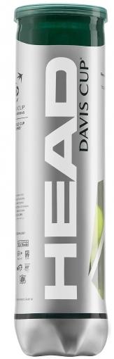 Tenisové míče HEAD DAVIS CUP 4ks