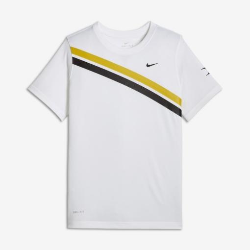 Dětské tenisové tričko Nike RF NikeCourt Dry AO2956-101