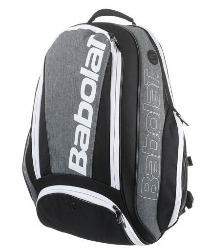 Tenisový batoh Babolat Pure Cross Grey Backpack  šedý (753047)
