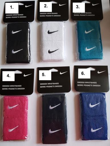 Tenisové potítko Nike Swoosh Wristbands