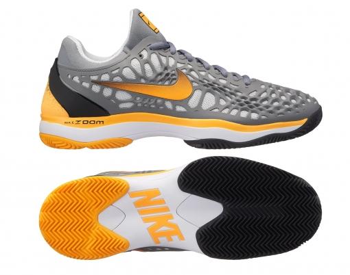 Dětská tenisová obuv Nike Air Zoom Cage 3 Clay 918192-003 - antuková