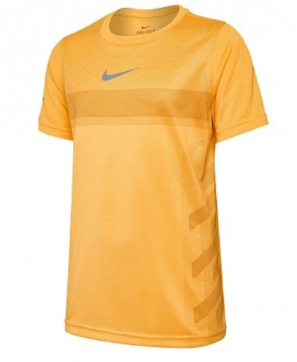 Kinder Tennis T-Shirt Nike Court Dry Rafa Tee AO2959-845 orange