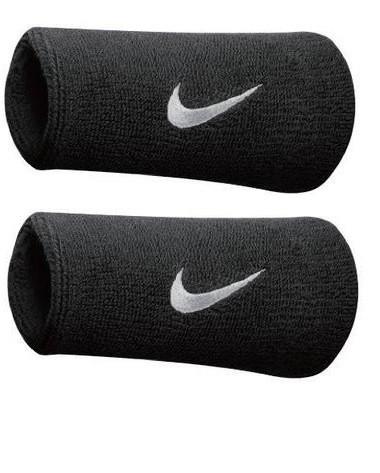 ... Tenisové potítko Nike Swoosh Wristbands Doublewide dd1de85091