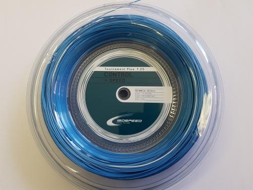 Tenisový výplet ISOSPEED TOURNAMENT PLUS 1,25 modrý 200m