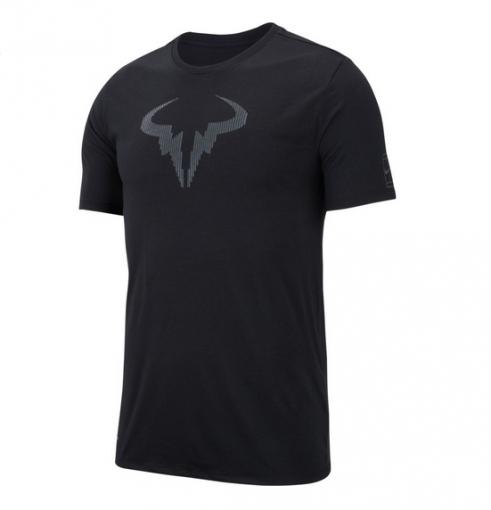 Pánské tričko NikeCourt Rafa 889793-010 černé