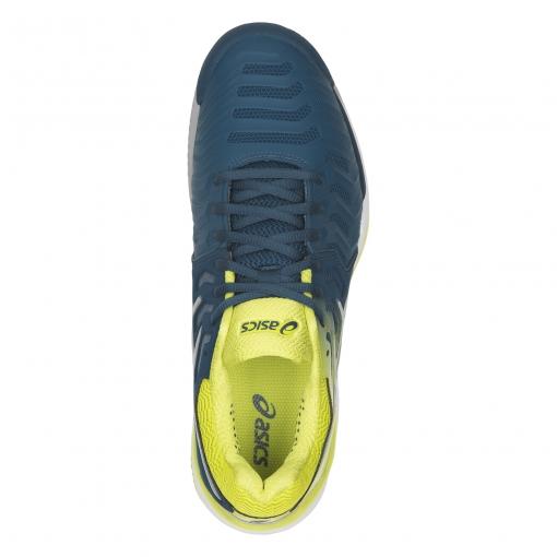 ... Tenisová obuv Asics Gel Resolution 7 Clay E702Y-4589 modro-limetkové c89181a52e