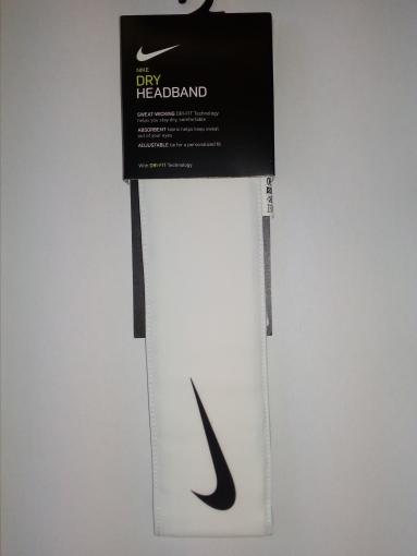 Čelenka Nike Tenis Headband  bílá