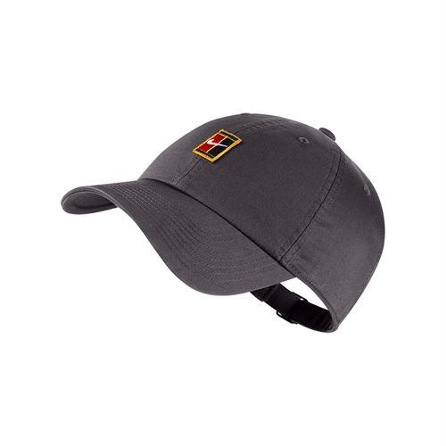 Tenisová kšiltovka Nike Heritage 86 Tennis Cap 852184-036 šedá