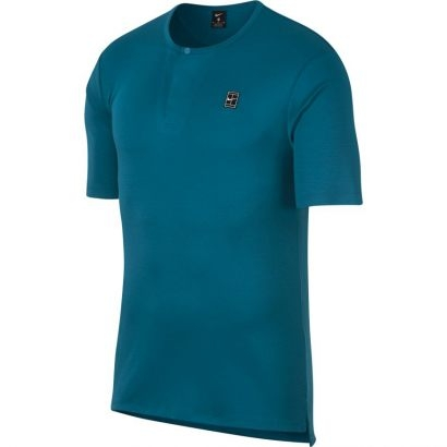 Tenisové tričko Nike Court Short Sleeve 888287-301 modré
