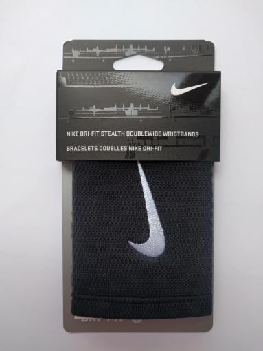 Potítko Nike Dri-Fit Stealth Doublewide černé