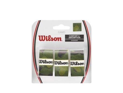 Vrchní omotávka WILSON OVERGRIP CAMO zelená