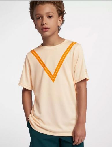 Dětské tenisové tričko Nike Court Dri-FIT RF AQ0326-838 oranžová