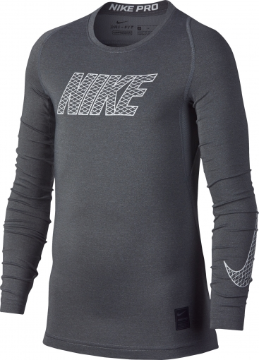 Dětské termotričko Nike Pro Compression 858232-065 šedé