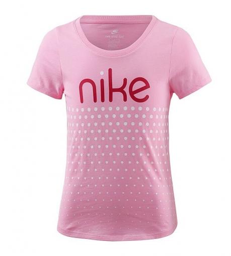 Dívčí tričko Nike T-Shirt 923640-654 růžové