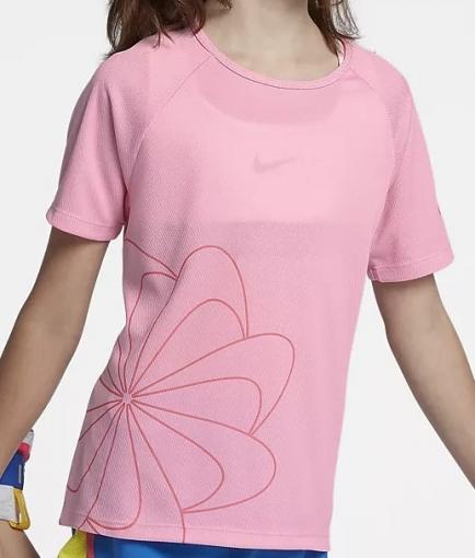 Dívčí sportovní tričko Nike Dri-Fit 938910-654 růžové