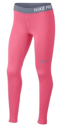 Dívčí legíny Nike Pro Tight 890228-614 růžové