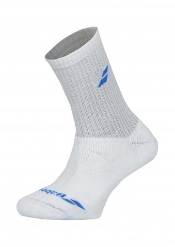 Dětské tenisové ponožky Babolat Sport Socks Junior 5US18371 bílo-modré