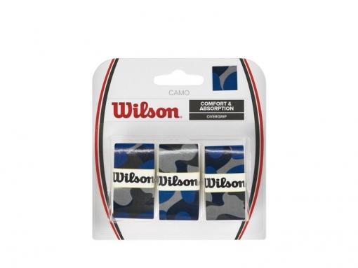 Vrchní omotávka WILSON OVERGRIP CAMO modrá