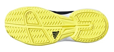 ... Dětská tenisová obuv Adidas Adizero Club K BB7942 modro-žlutá b4dc974147