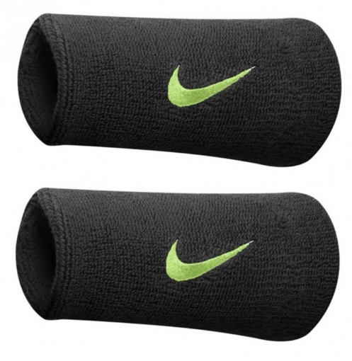Tenisové potítko Nike  potítko černé s neonovým znakem