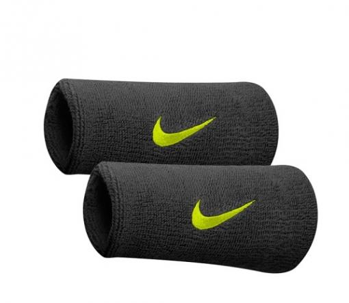 ... Tenisové potítko Nike potítko černé s neonovým znakem 4f7a6f191a
