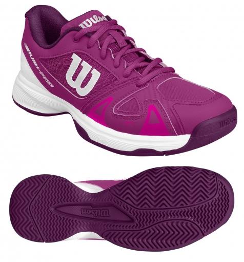 Dětská tenisová obuv Wilson RUSH Pro junior 2.5 růžová