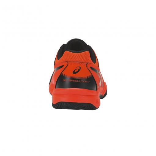 ... Dětská tenisová obuv Asics Gel Resolution 7 Clay GS C800Y-801 4dca12e769