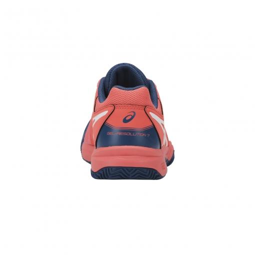 ... Dětská tenisová obuv Asics Gel Resolution 7 Clay GS C800Y-701 0515f8320c