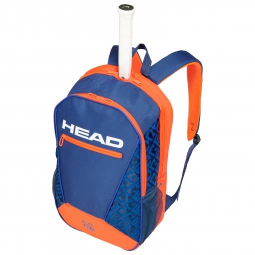 Tenisový batoh Head Core Backpack 2019 modro-oranžový