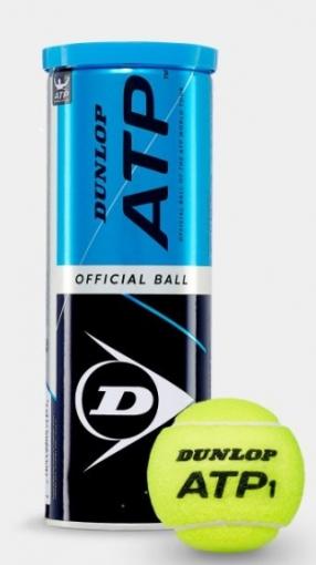 Tenisové míče Dunlop ATP 3ks - karton