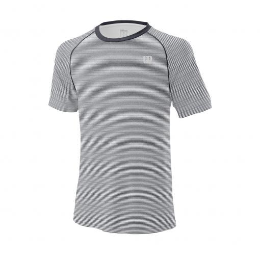 Tennis T-Shirt Wilson Training Crew T-Shirt WRA774102 grau