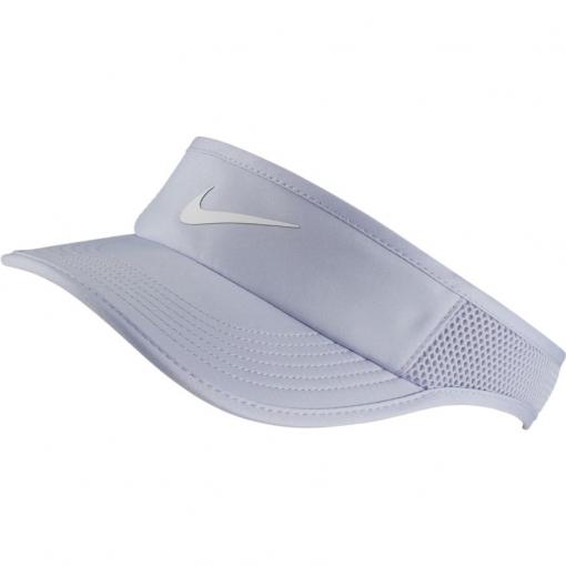 Tenisový dámský kšilt Nike Court AeroBill světle fialový 899656-508