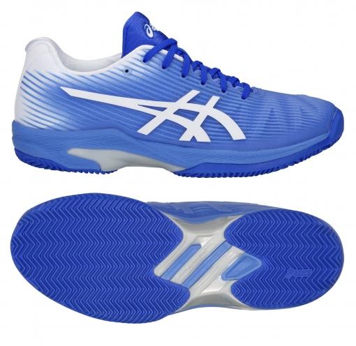 Dámská tenisová obuv Asics Solution Speed FF Clay 1042A-003-411 modré