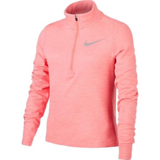 Girls Langarm-Laufoberteil NIKE Long Sleeve Running Top AQ9095-668 pink