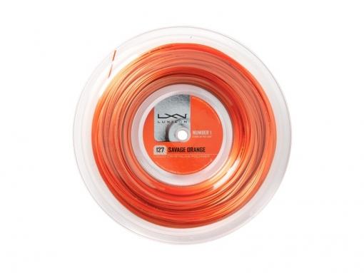 Tenisový výplet Luxilon SAVAGE 127 200 m oranžový