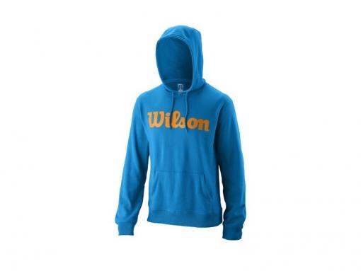 Tennis Jacke Wilson Hooded Pulover WRA769112 blau