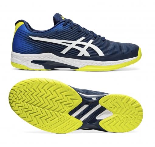 Tenisová obuv Asics Gel Solution Speed FF A1041A003-402 - All Court - modrá